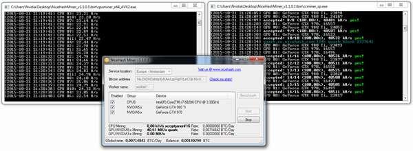 Обзор приложений для майнинга криптовалют
