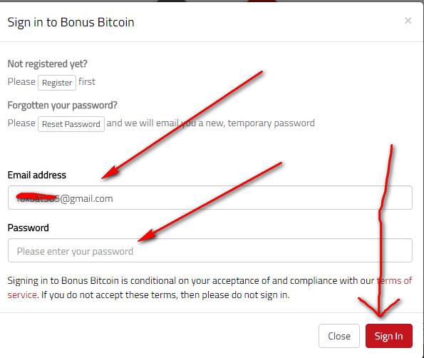 bonus bitcoin вход
