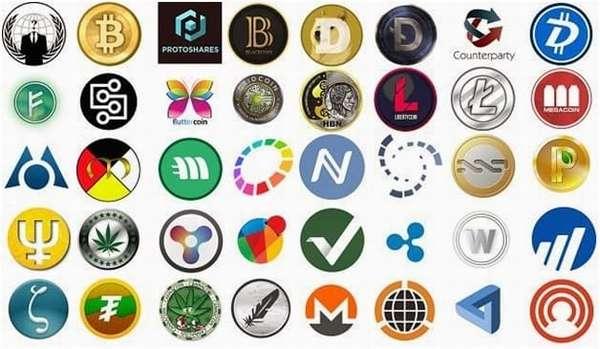 разновидности криптовалюты