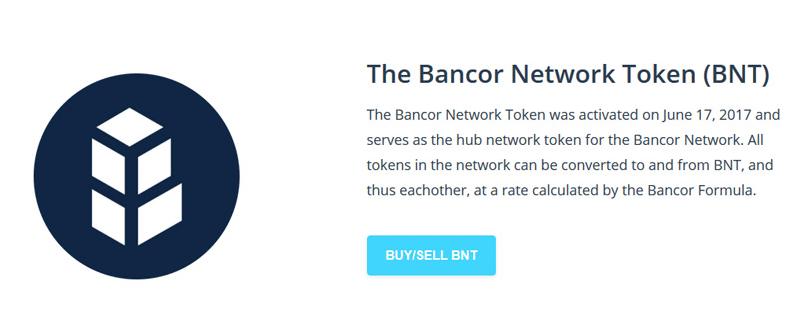 BNT Bancor Token