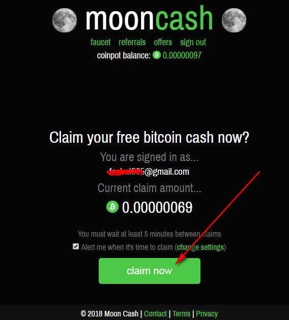 moon cash co in