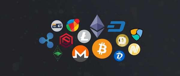 название криптовалют на бирже