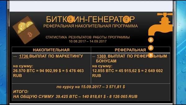 скачать биткоин генератор
