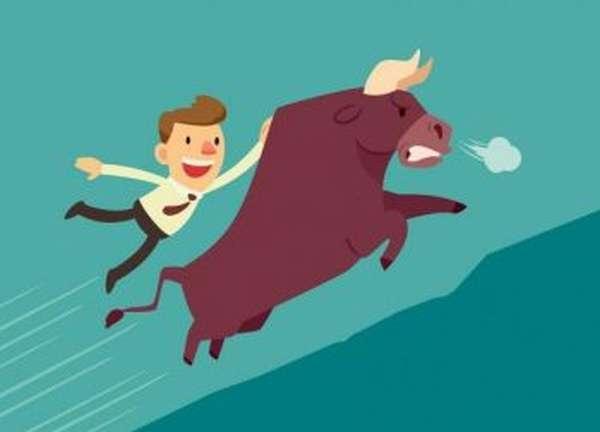Поездка на бычий рынок