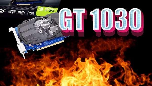 майнинг Ethereum на GT 1030