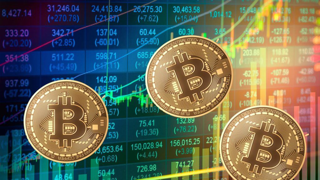 графики курса биткоина на биржах