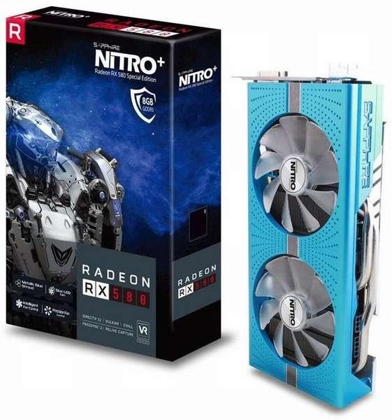 Radeon RX 580 от AMD для майнинга криптовалюты
