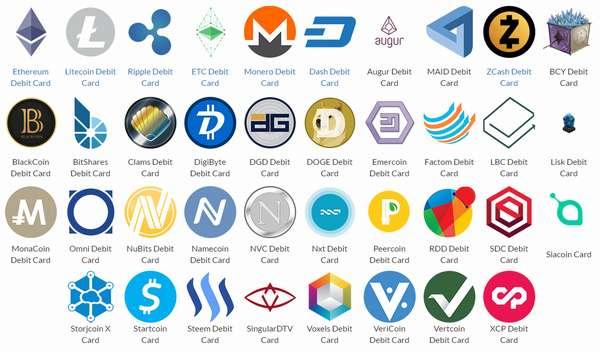 какие есть криптовалюты кроме биткоина