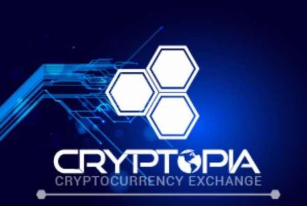 сайт биржи криптовалют Криптопия
