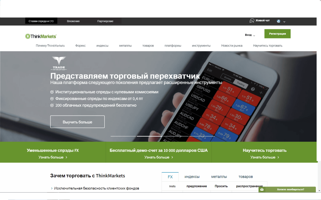 Think Markets компания