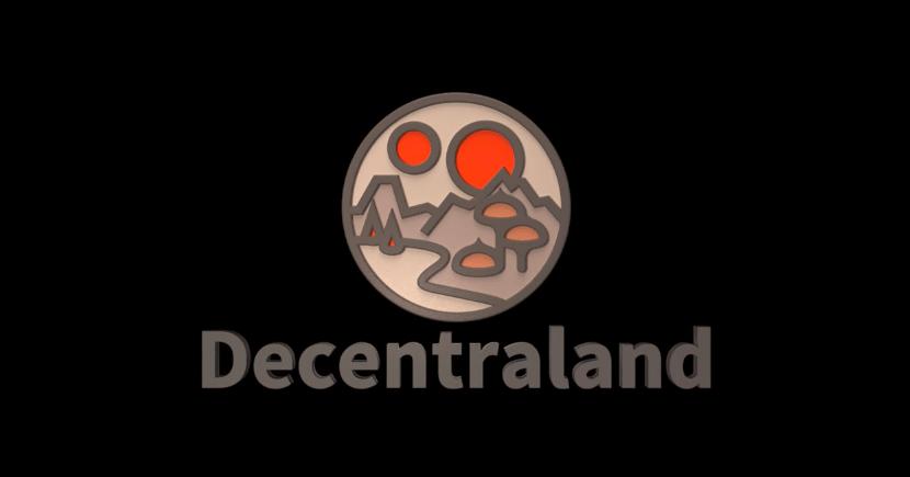 Decentraland Mana виртуальная реальность на блокчейне