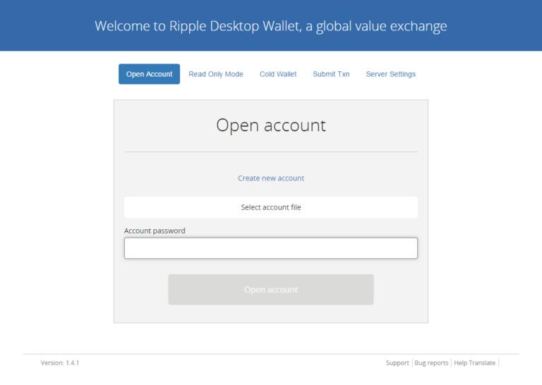 Как создать холодный кошелек Rippex Wallet и как им пользоваться?