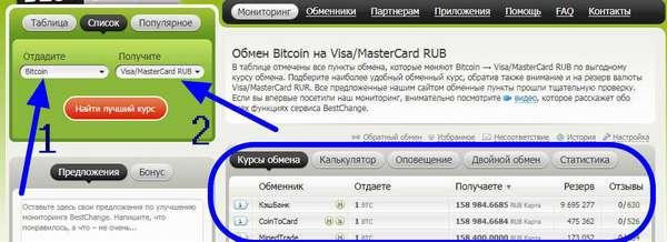 калькулятор для перевода биткоинов