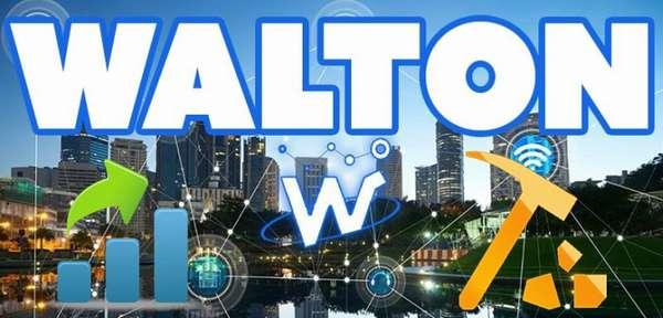 криптовалюта Walton, курс
