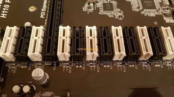 Материнская плата AsRock H110 Pro BTC: обзор, характеристики, установка