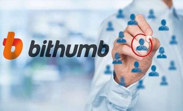 корейская биржа криптовалют Bithumb, график