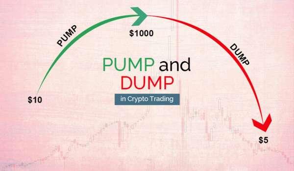 памп криптовалюты на бирже это