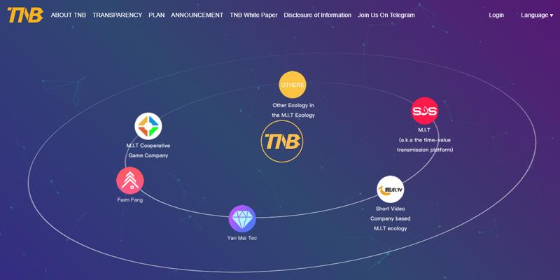 перспектива криптовалюты TNB