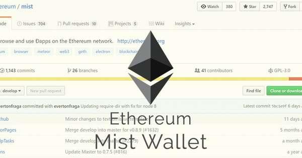 официальный сайт Mist Ethereum