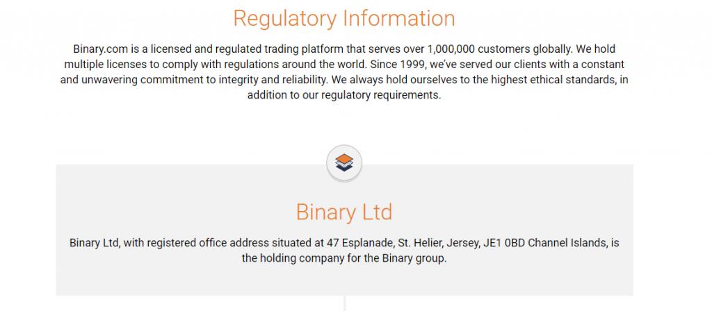 binary com регулируемый брокер
