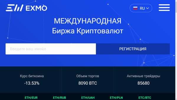 лучшие российские биржи криптовалют