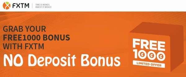 fxtm бонус