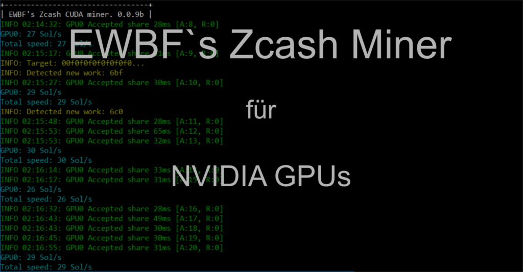 Обзор и настройка майнера для добычи ZCash