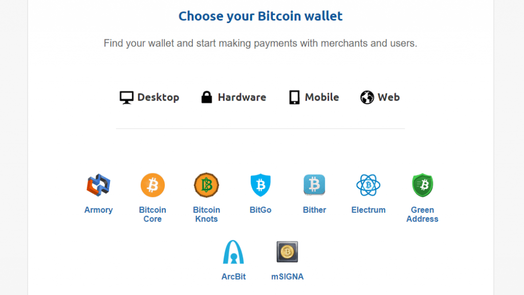 bitcoin кошельки