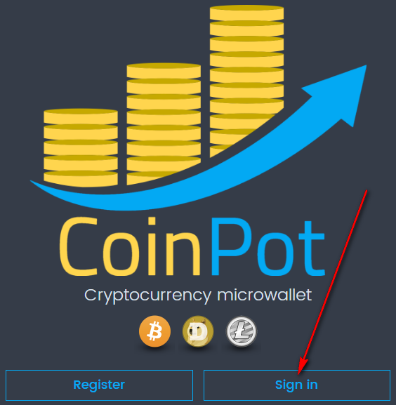 coinpot microwallet войти