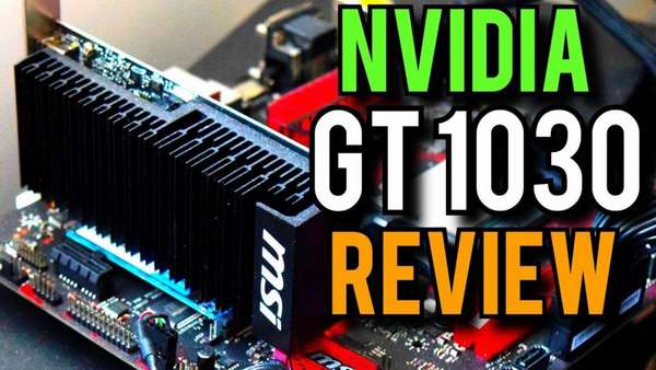 майнинг Geforce GT 1030