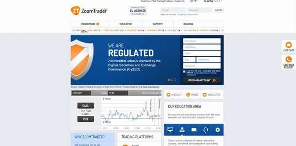 ZoomTrader регулируется