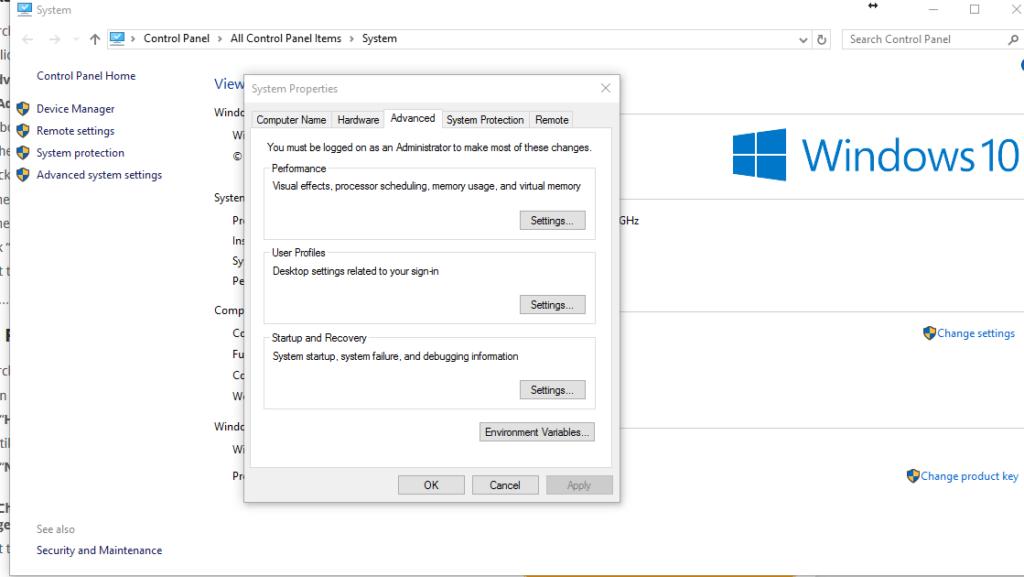 настройка Windows 10 для майнинга с нуля