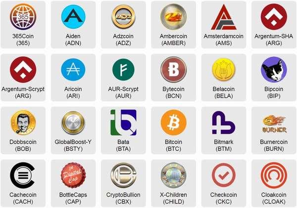 обозначение криптовалют на бирже
