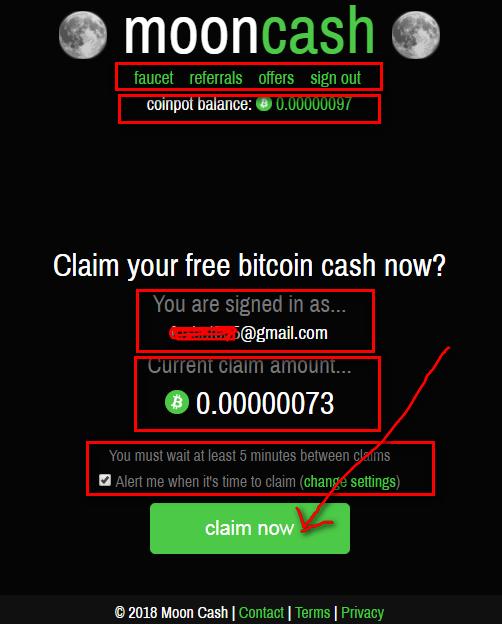 кран moon cash
