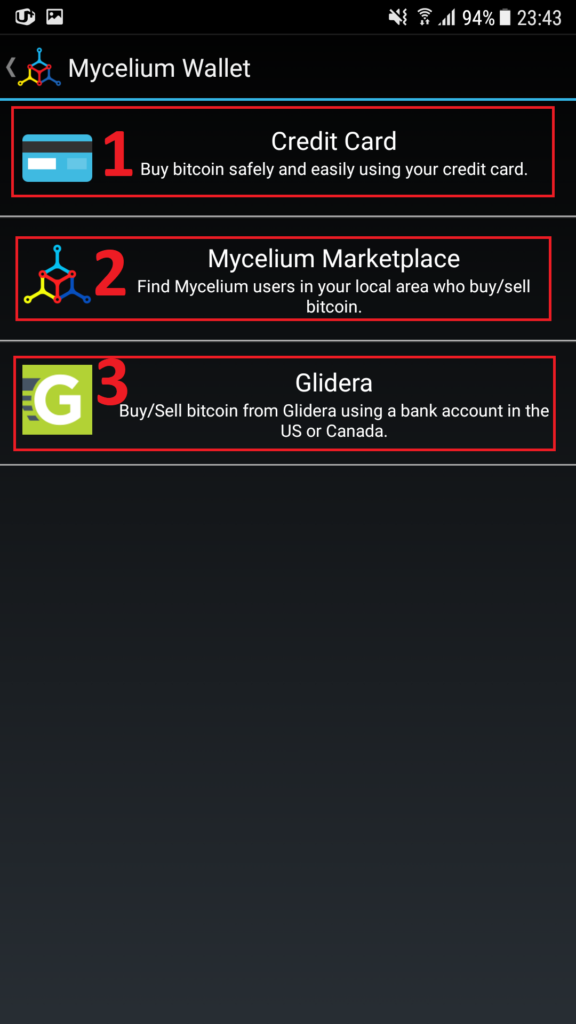 Полный обзор кошелька Mycelium
