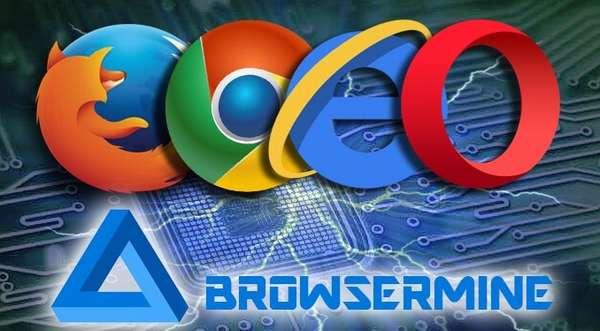 Браузерный майнинг Browsermine