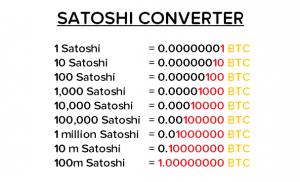 Сатоши разбираемся с биткоиновской копейкой